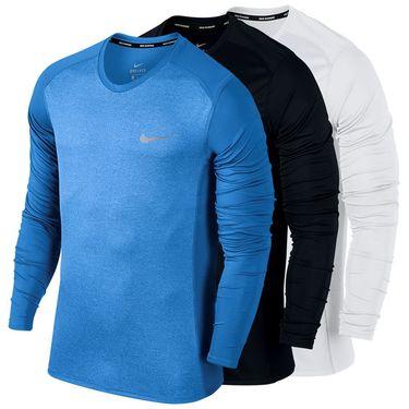 Nike Miler Long Sleeve Crew