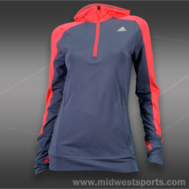 adidas Tech Fit 1/2 Zip Hoody -Shade Grey