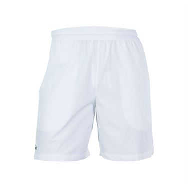 Lacoste Stretch Woven Short - White/Black