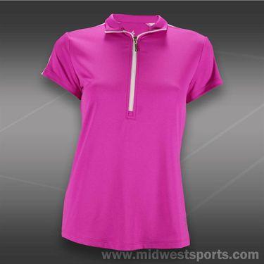 JoFit Lanai Amped Golf Top-Jo Pink