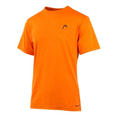 Head Olympus Hypertek Crew - Red Orange Heather