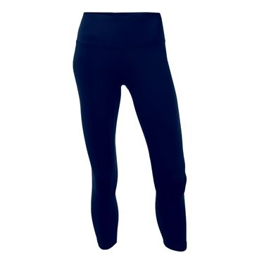 Head Solid Criss Cross Crop Pant - Medieval Blue