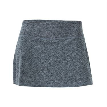 Head Diamond Jacquard Skirt - Charcoal Heather