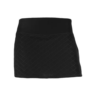 Head Diamond Jacquard Skirt - Black