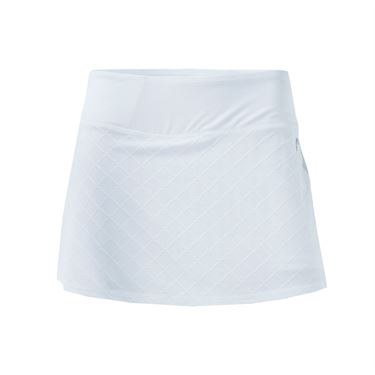 Head Diamond Jacquard Skirt - Stark White