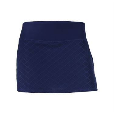 Head Diamond Jacquard Skirt - Medieval Blue