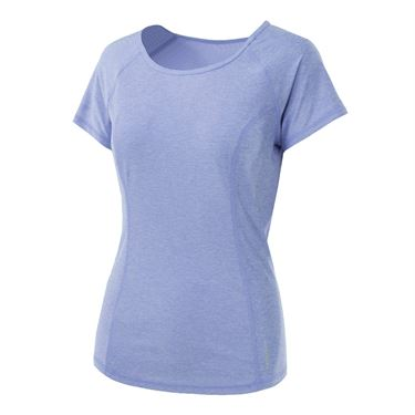 Head Prime Raglan Short Sleeve Top - Sweet Lavender Heather