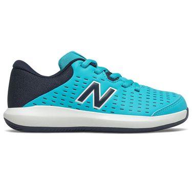 New Balance KC696VS4 Junior Tennis Shoe Blue KC696VS4