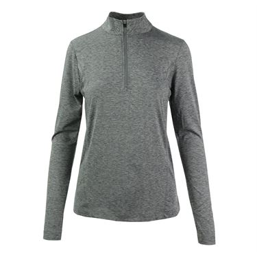 Prince 1/4 Zip Pull Over - Grey/ Heather