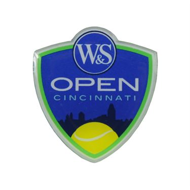 W&S Open Crest Lapel Pin