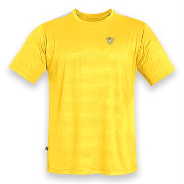 DUC Traction Tennis Crew - Gold/White