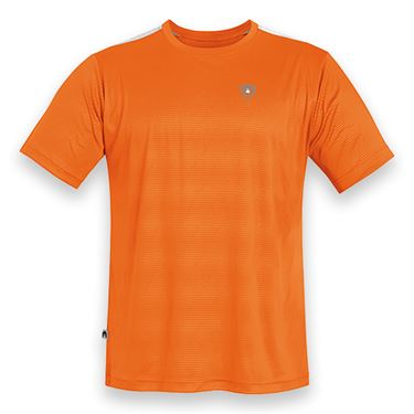 DUC Traction Tennis Crew - Orange/White