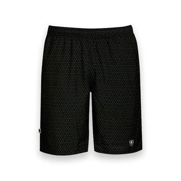 DUC Diamond Daze Printed Tennis Short - Black