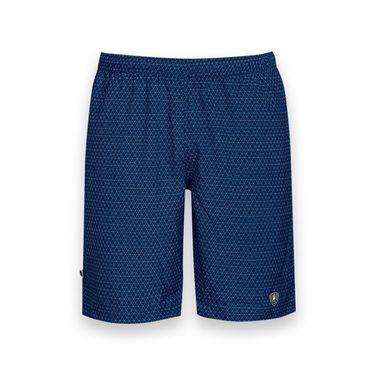 DUC Diamond Daze Printed Tennis Short - Navy Blue