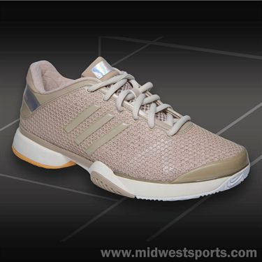 adidas Barricade 8 Stella McCartney Womens Tennis Shoes-Ginger/Clementine