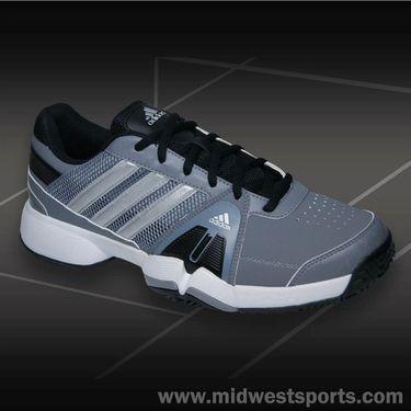 adidas Barricade Team 3 Mens Tennis Shoe-White/Black/Onix