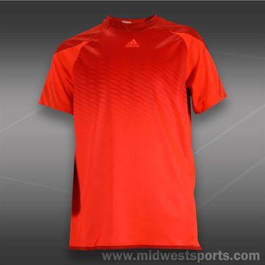 adidas Boys adiZero Crew-Red/Black