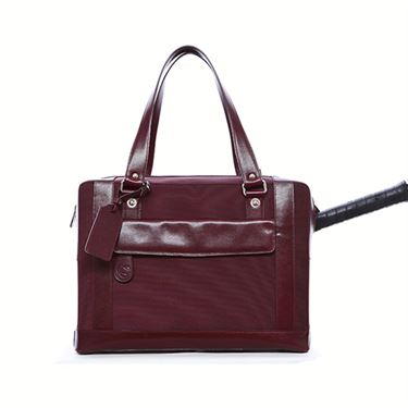 Cortiglia Marina Burgundy Tennis Bag