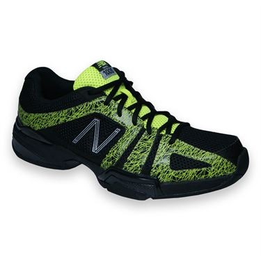 New Balance MC1005BY (2E) Mens Tennis Shoe-Black/Yellow