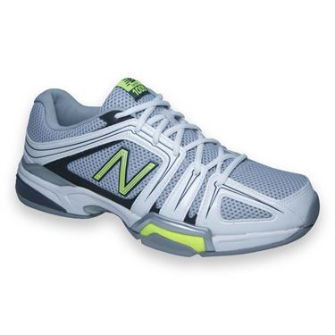 New Balance MC1005MH (D) Mens Tennis Shoe-Grey/Yellow