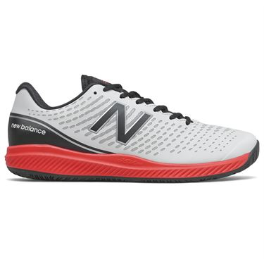 New Balance 796v2 (D) Mens Tennis Shoe - White/Black/Red