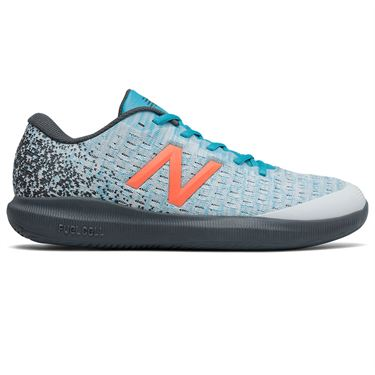 New Balance 996v4 (D) Mens Tennis Shoe - White/Blue