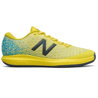 New Balance 996v4 (2E) Mens Tennis Shoe - Yellow/Blue