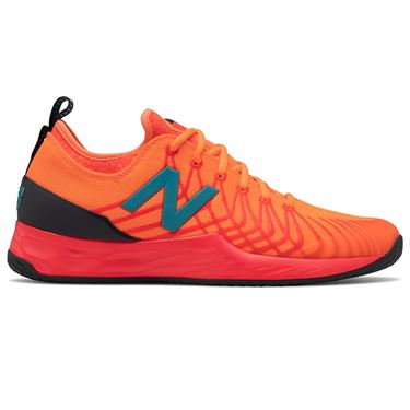 New Balance Fresh Foam LAV (D) Mens Tennis Shoe - Punch/Coral