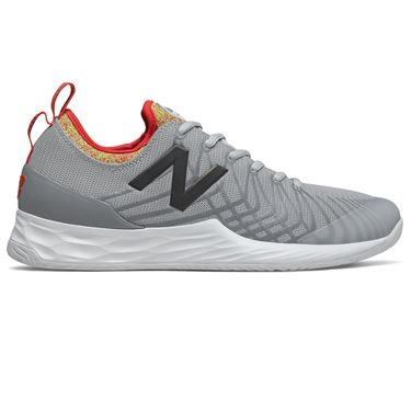 New Balance Fresh Foam LAV (2E) Mens Tennis Shoe - Grey/Multi