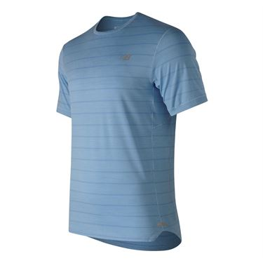 New Balance Seasonless Short Sleeve Tee - Summer Sky