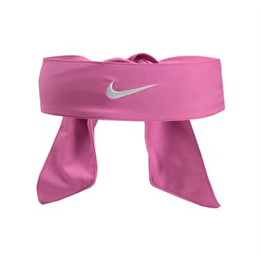 Nike Dri Fit Head Tie 2.0 - Pink Fire/White