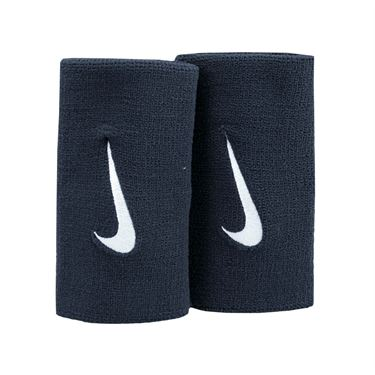 Nike Premier Doublewide Wristbands - Black/White
