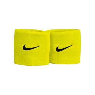 Nike Tennis Premier Wristbands - Bright Citron/Black