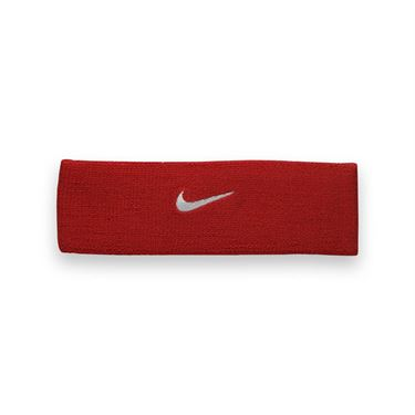 Nike Dri Fit Home and Away Headband-Varsity Red