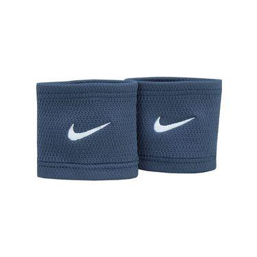Nike Core Stealth Wristbands - Thunder Blue/White