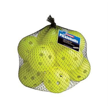Tourna Indoor Pickleball Optic Yellow 12 Pack