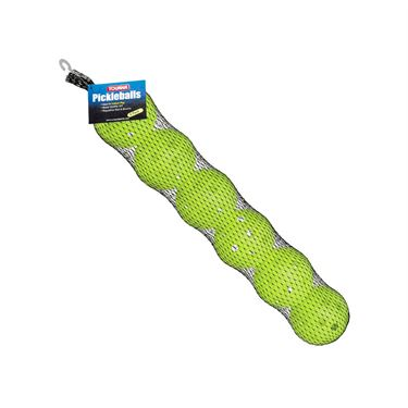 Tourna Indoor Pickleball Lime Green 6 Pack