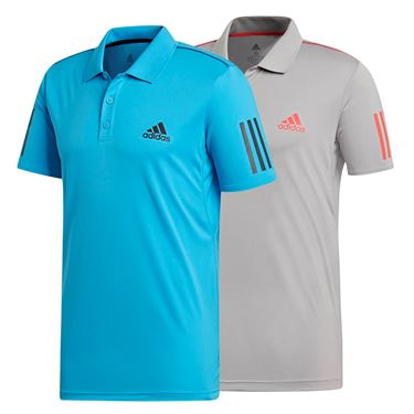 adidas Club 3 Stripe Polo