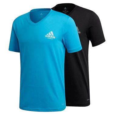 adidas Graphic V Neck Tee