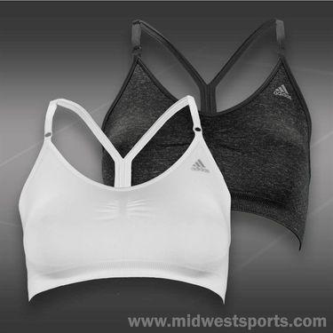 adidas adipure Seamless Bra-White