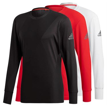 adidas Barricade Long Sleeve Crew