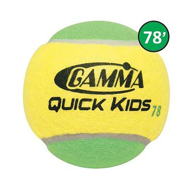 Gamma Quick Kids 78 Tennis Balls 12 Pack