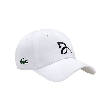 Lacoste Novak Djokovic Athlete Hat - White