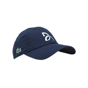 15e53169e Lacoste Novak Djokovic Hat, Navy, RK3881 166 | Tennis Hats