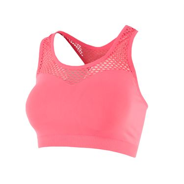 Lucky in Love Recover All Net Sports Bra - Lava
