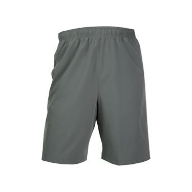 Prince Stretch Woven Short - Smoke/Alloy Heather