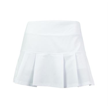 Prince Stretch Woven Skirt - White