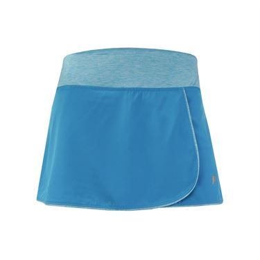 Prince Stretch Woven Skirt - Atomic Blue/Turquoise/Heather