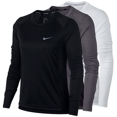 Nike Dry Miler Long Sleeve Top