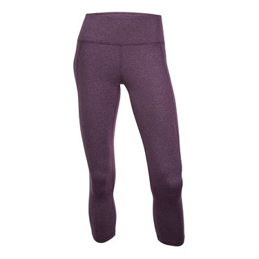 Tonic Court Crop Legging - Grape Mix